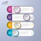 现代infographics 向量例证