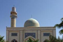 现代mosk在ArRaqqah (Rakka)在叙利亚 库存照片