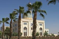 现代mosk在Raqqa叙利亚 免版税库存图片