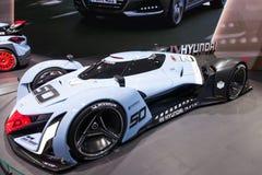 现代Muroc在IAA的概念汽车2015年 免版税库存图片