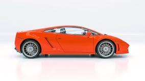现代supercar 免版税图库摄影