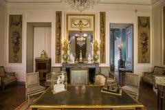 玷污翼,天窗,巴黎,法国 免版税库存照片