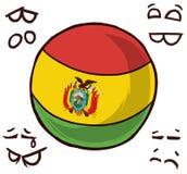 玻利维亚国家球 皇族释放例证