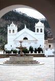 玻利维亚教会苏克雷 免版税库存照片