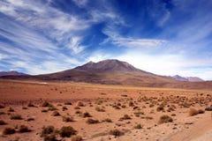 玻利维亚横向 免版税库存图片
