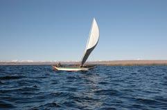 玻利维亚的航行 库存照片
