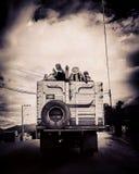 玻利维亚的运输 库存图片