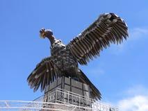 玻利维亚神鹰纪念碑puno 库存照片