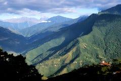 玻利维亚谷yungas 免版税图库摄影