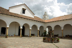 玻利维亚casa de la libertad苏克雷 免版税图库摄影