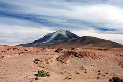 玻利维亚vulcano 库存图片