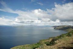 玻利维亚湖titicaca 库存图片