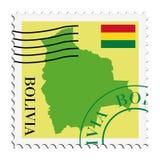 玻利维亚邮件 库存图片