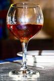 玻璃佐餐葡萄酒 库存图片