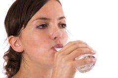 玻璃健康水 免版税图库摄影
