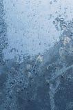 玻璃冰冷的模式 库存图片
