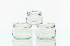 玻璃刺激三 免版税库存图片