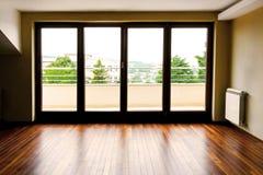 玻璃剪影墙壁 库存照片