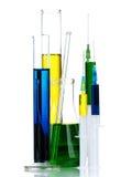 玻璃器皿实验室 免版税库存图片