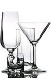玻璃器皿 库存图片