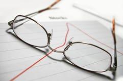玻璃图形 免版税库存照片