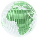 玻璃地球 向量例证