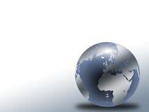 玻璃地球 免版税库存照片