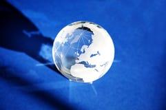 玻璃地球 库存照片