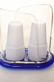 玻璃塑料 免版税库存图片