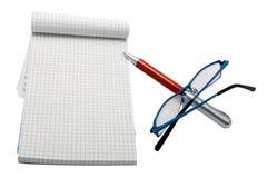 玻璃填充笔 免版税图库摄影