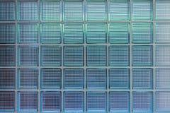 玻璃墙的模式 免版税库存图片