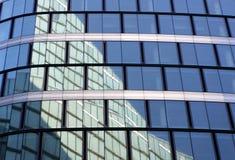 玻璃墙 免版税库存照片