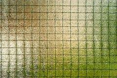 玻璃安全性墙壁电汇 库存图片