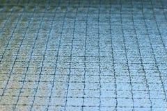 玻璃安全性墙壁电汇 免版税库存图片