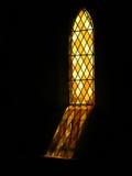 玻璃宗教被弄脏的视窗 免版税图库摄影