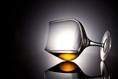 玻璃寿命不起泡的酒 免版税库存照片