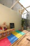 玻璃屋顶空间阳光 免版税库存图片