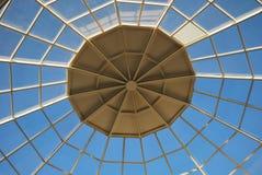 玻璃屋顶 免版税图库摄影