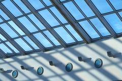 玻璃屋顶 免版税库存图片