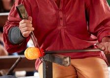 玻璃工人 免版税库存图片