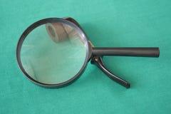 玻璃扩大化 免版税图库摄影