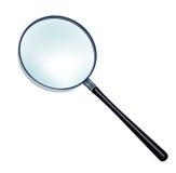 玻璃扩大化 免版税库存照片
