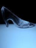 玻璃拖鞋 免版税图库摄影