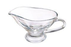 玻璃新的投手透明白色 免版税库存照片
