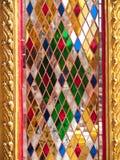 玻璃柱子 免版税图库摄影