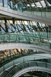 玻璃楼梯 免版税图库摄影