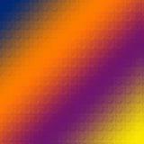 玻璃模式彩虹 免版税库存照片