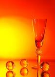 玻璃橙色藤 免版税库存图片