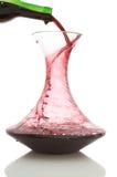 玻璃水瓶 库存图片
