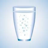 玻璃水 库存例证